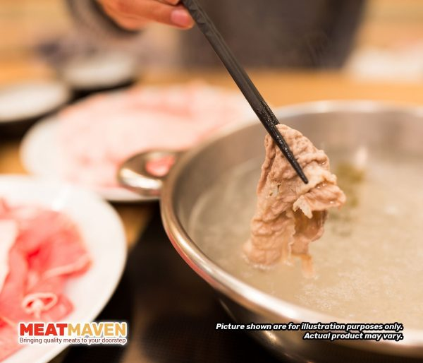 Ribeye Beef Shabu-Shabu - Cooking sample